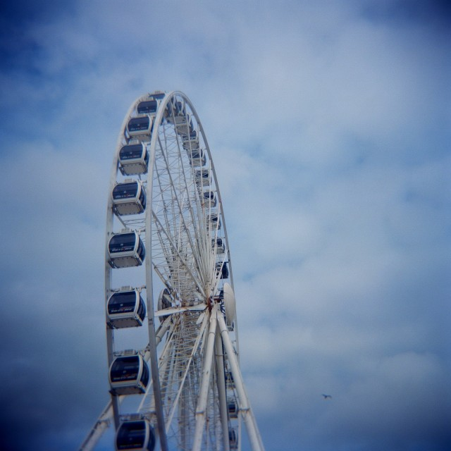 """Brighton Wheel"" stock image"