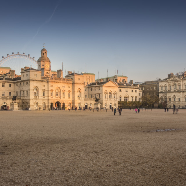 """""""Horse Guards"""" stock image"""