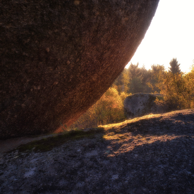 """Granite glow"" stock image"
