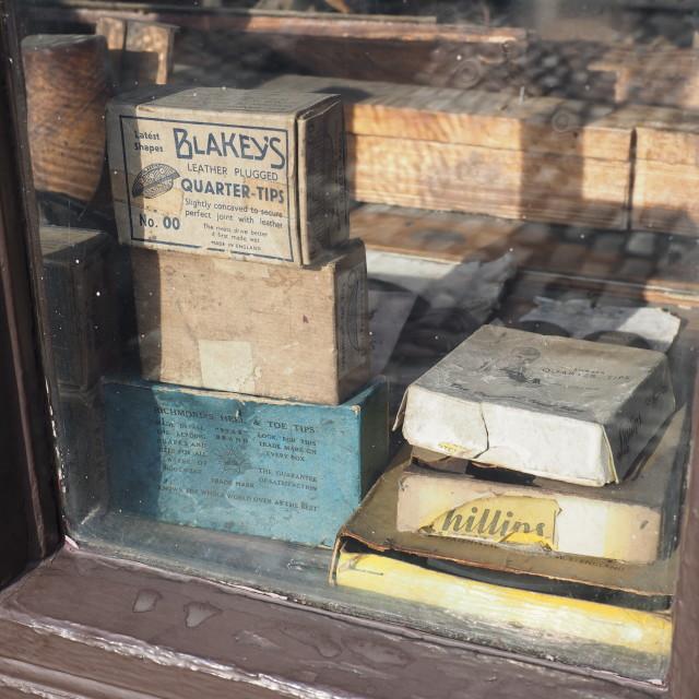 """1920's Shop window"" stock image"