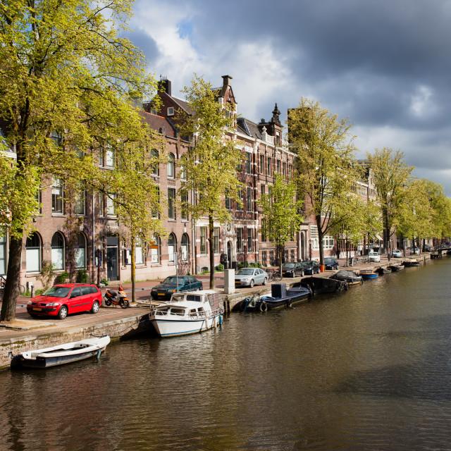 """""""Springtime in Amsterdam"""" stock image"""