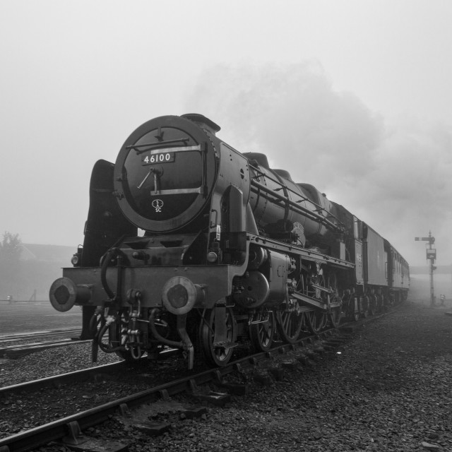 """The Royal Scot"" stock image"