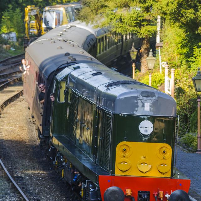 """""""Class 20 D8059"""" stock image"""
