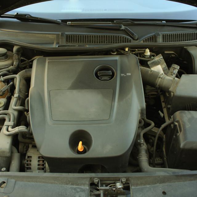 """Car engine"" stock image"