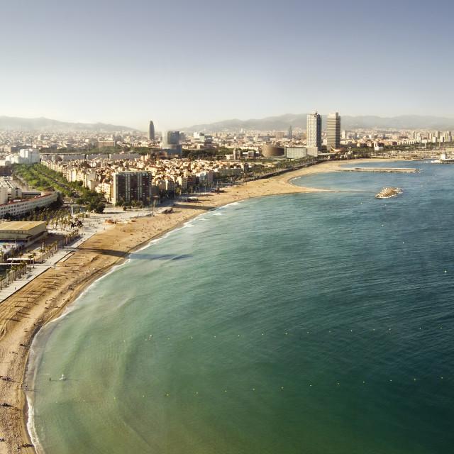 """Barceloneta"" stock image"