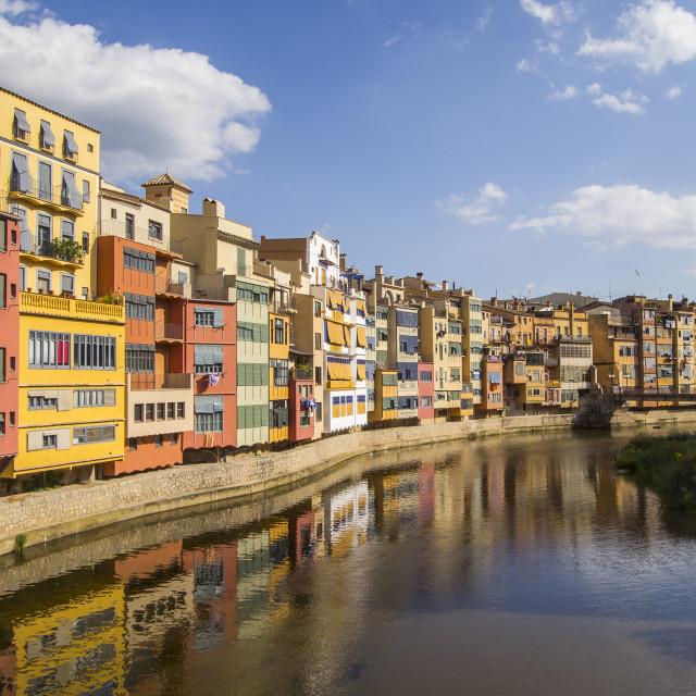 """""""Girona"""" stock image"""