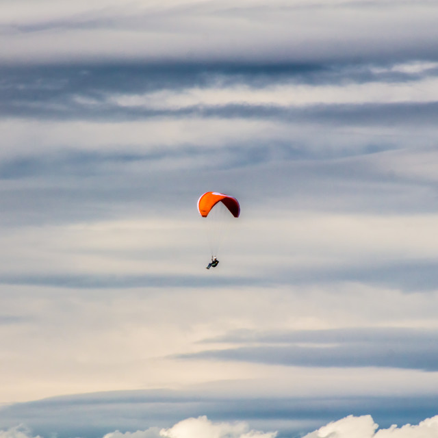 """Paraglider"" stock image"