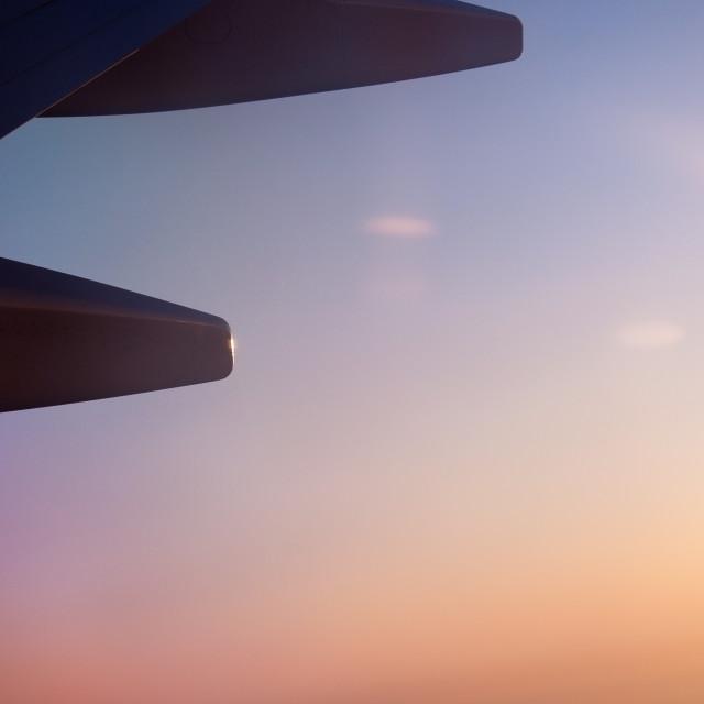 """""""Flight background"""" stock image"""