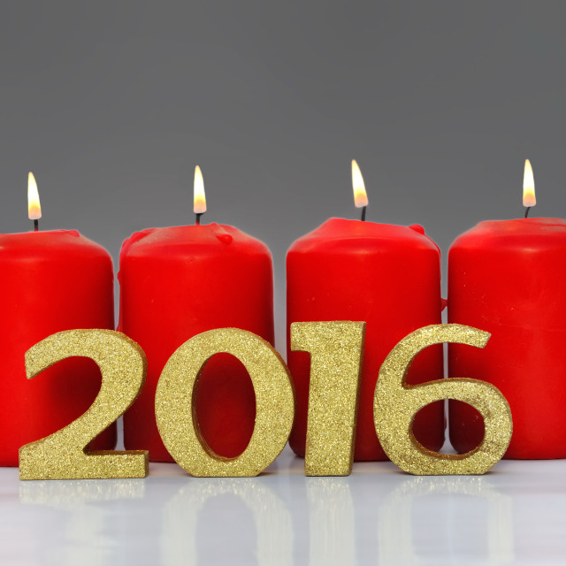"""""""new year 2016"""" stock image"""