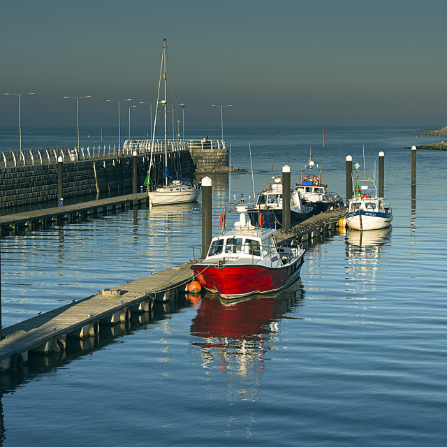 """Rhyl Harbour"" stock image"