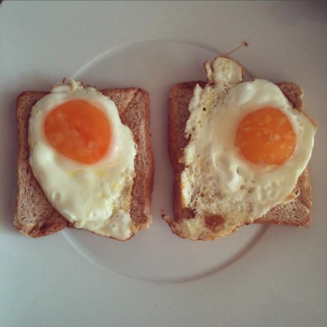 """A good breakfast"" stock image"
