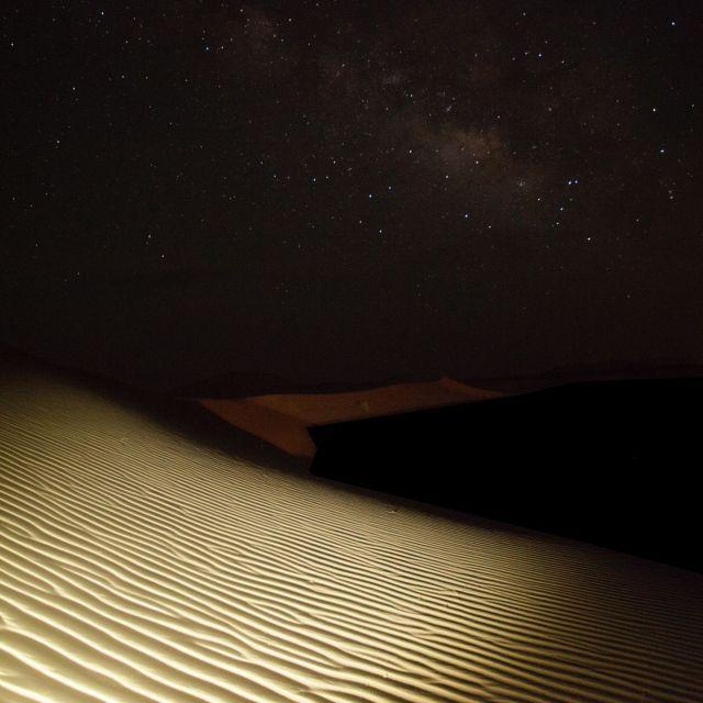 """Saharian Milky way"" stock image"