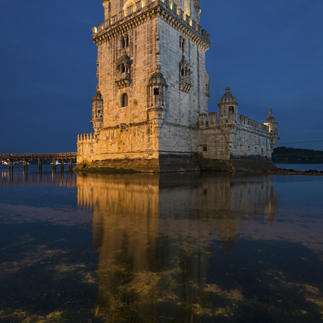 """Tower of Belem, Lisbon"" stock image"