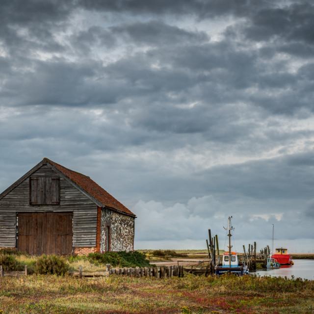 """Acres of Norfolk Sky"" stock image"