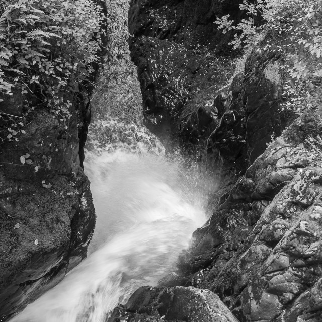 """""""Aire Force Waterfall"""" stock image"""