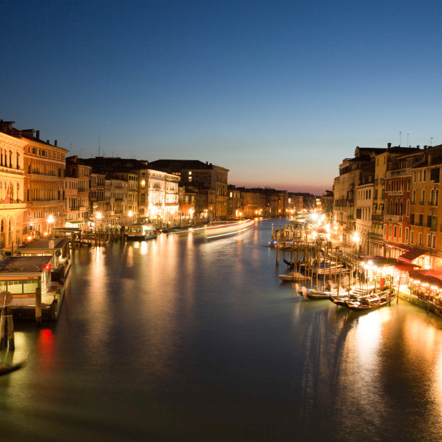 """Venice lights"" stock image"