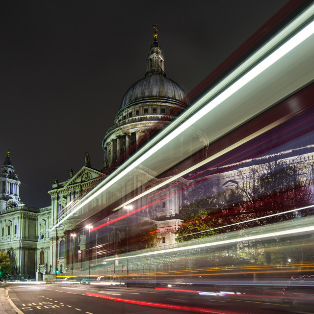 """St Pauls Cathedral"" stock image"