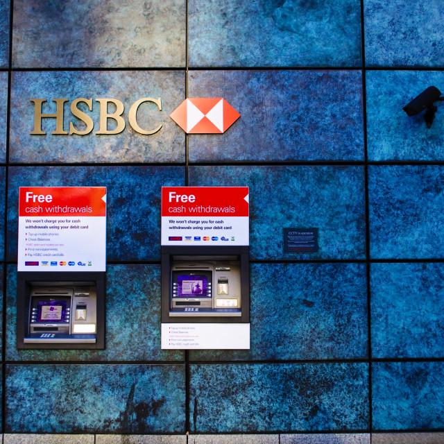 """HSBC Bank"" stock image"