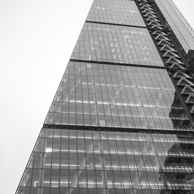 """the Leadenhall Building"" stock image"