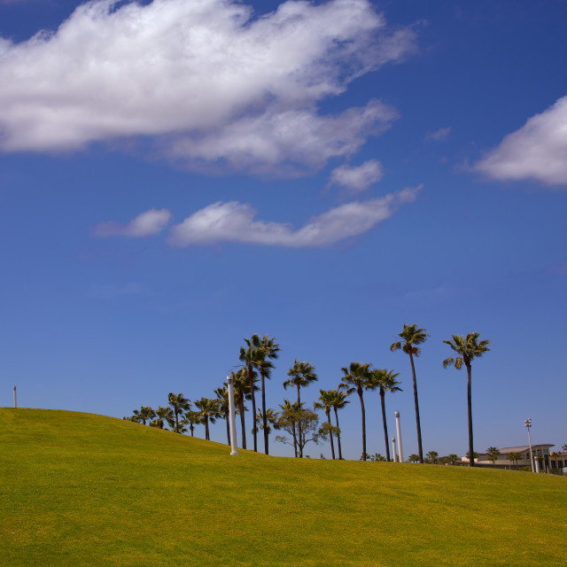"""Long Beach California Shoreline Park Lighthouse"" stock image"