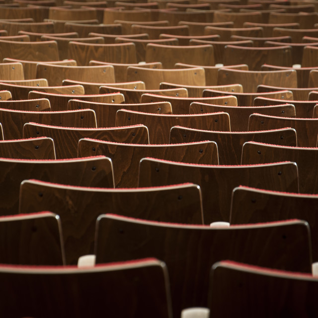 """Seats"" stock image"