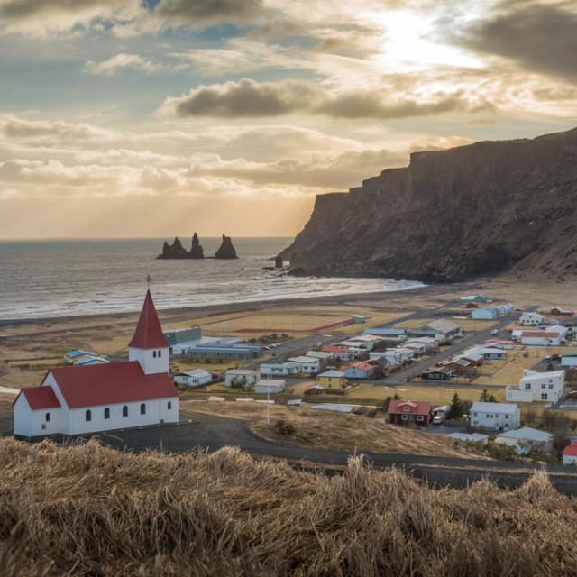 """""""Vik - Iceland"""" stock image"""