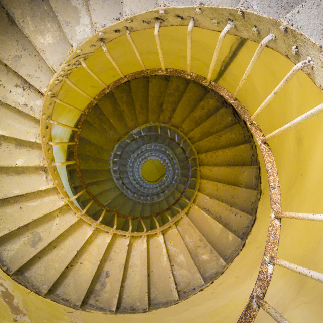 """""""Spiral Staircase lighthouse"""" stock image"""