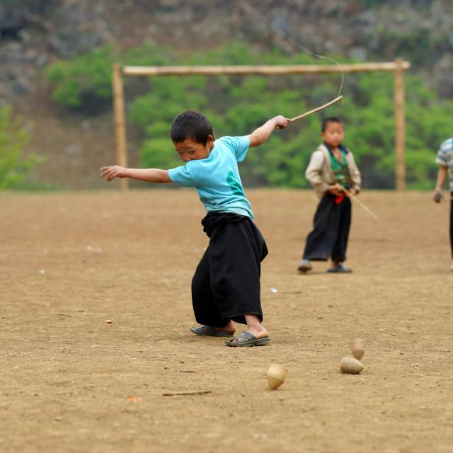 """Hmong children"" stock image"
