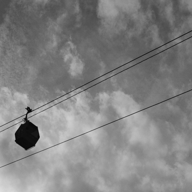 """""""Cable car."""" stock image"""