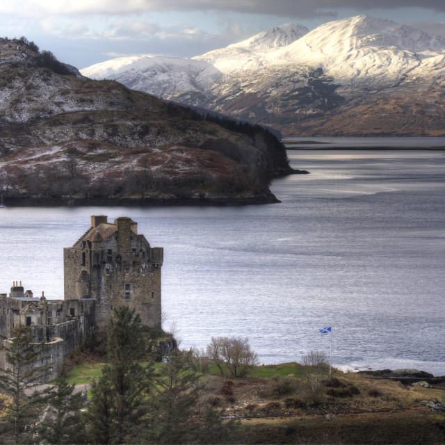 """Eilean Donan Castle, Scotland."" stock image"