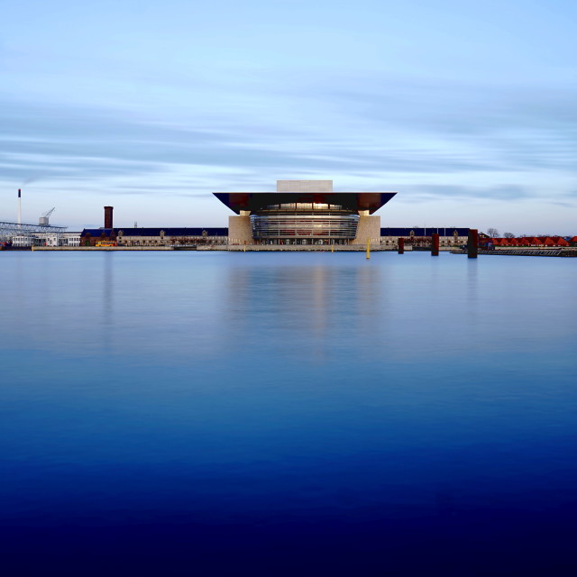 """Copenhagen Opera House"" stock image"