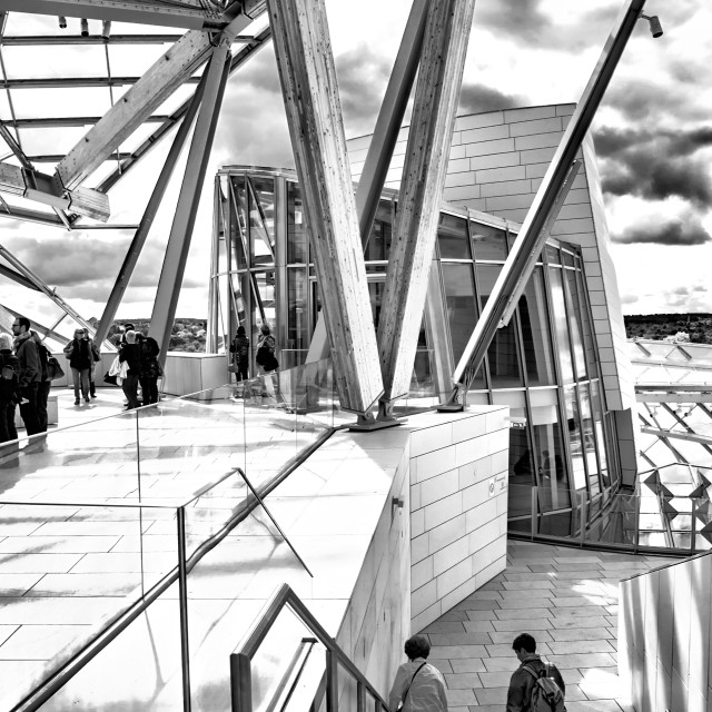 """Fondation Louis Vuitton IV"" stock image"
