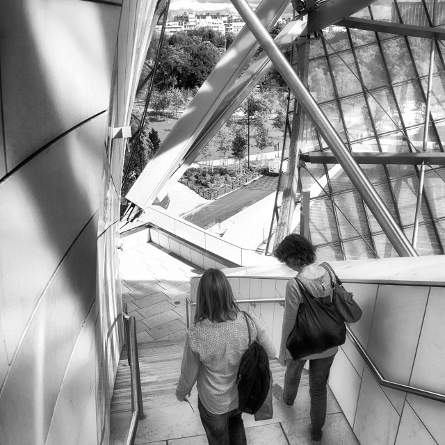 """Fondation Louis Vuitton V"" stock image"
