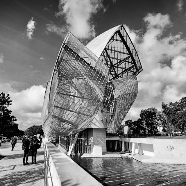 """Fondation Louis Vuitton I"" stock image"
