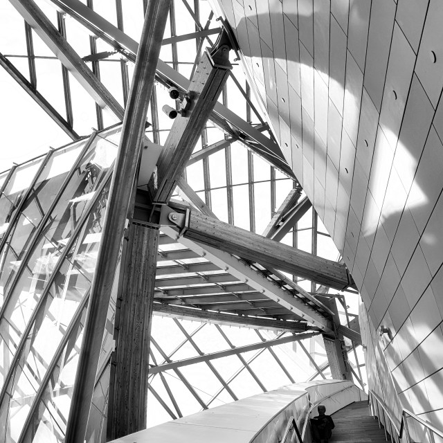 """Fondation Louis Vuitton VI"" stock image"