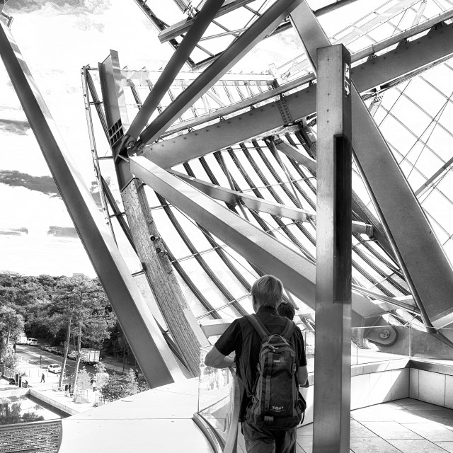 """Fondation Louis Vuitton VII"" stock image"