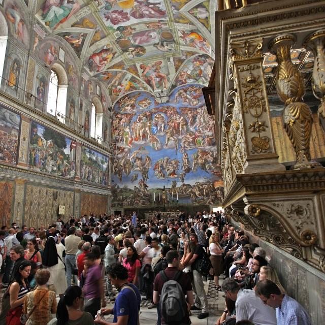 """Sistine Chapel"" stock image"