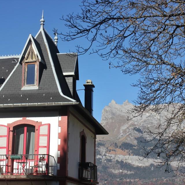 """Alpine life"" stock image"
