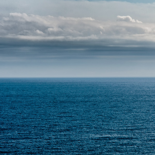 """Stormy Weather At Sea"" stock image"