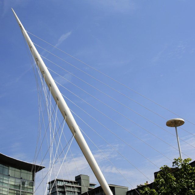 """Calatrava Bridge"" stock image"