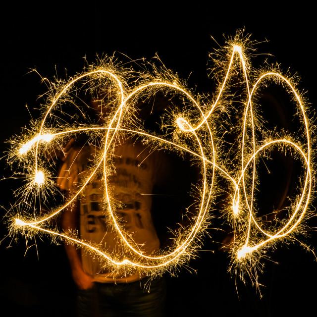 """""""Happy 2016"""" stock image"""