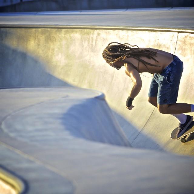 """Venice Beach Skate Park"" stock image"