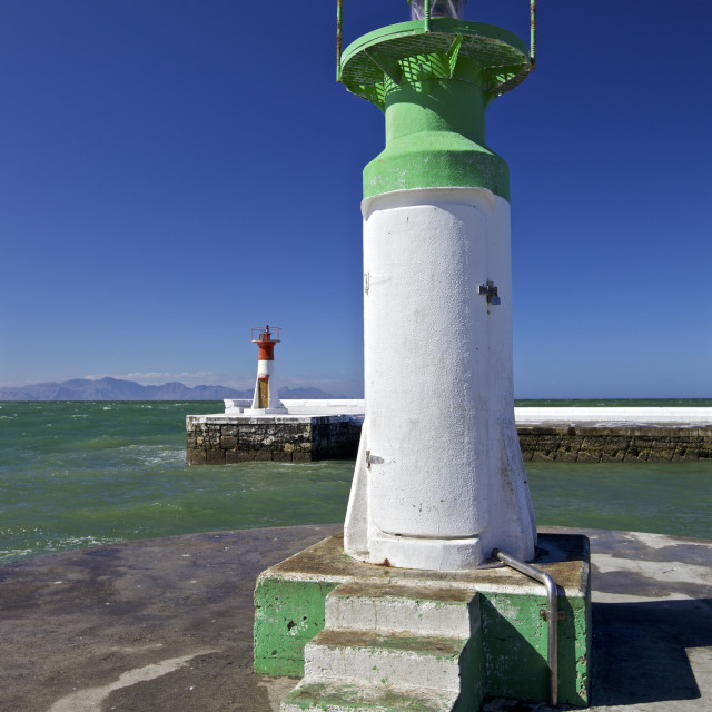 """""""Lighthouse Towers"""" stock image"""