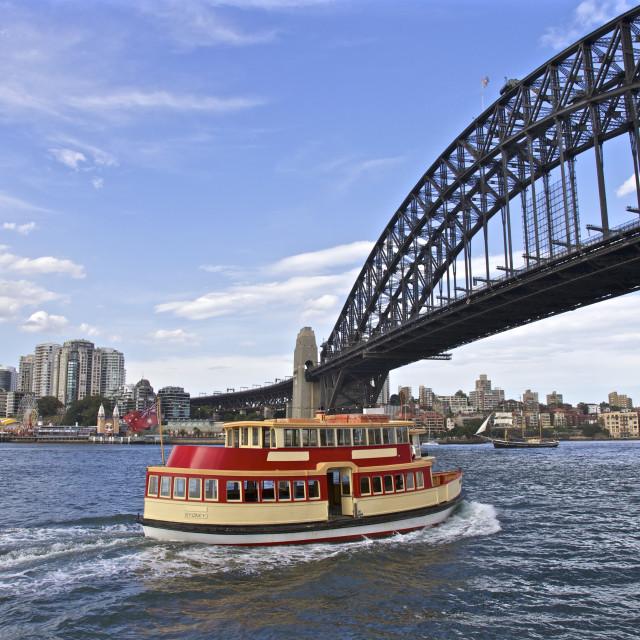"""Sydney Harbour Ferry"" stock image"