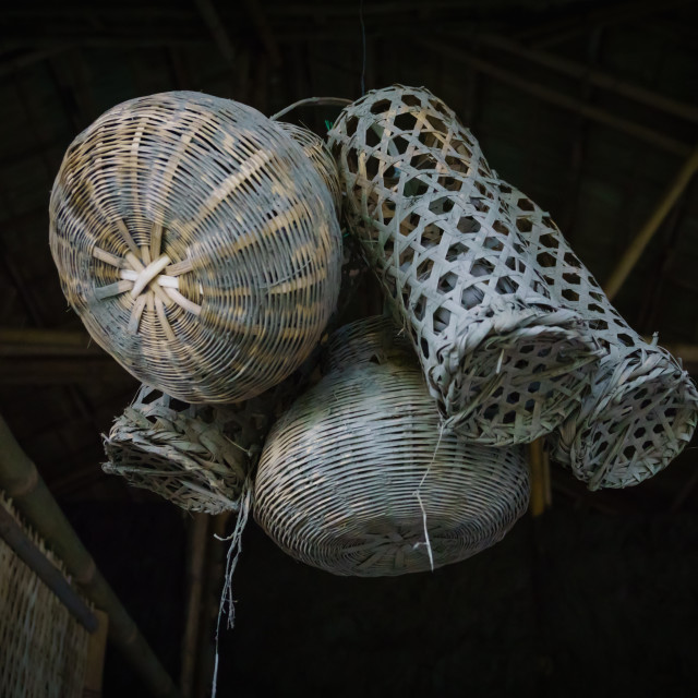 """""""The fish traps"""" stock image"""
