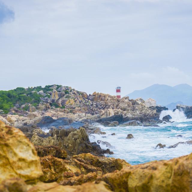 """Coatsline lighthouse"" stock image"
