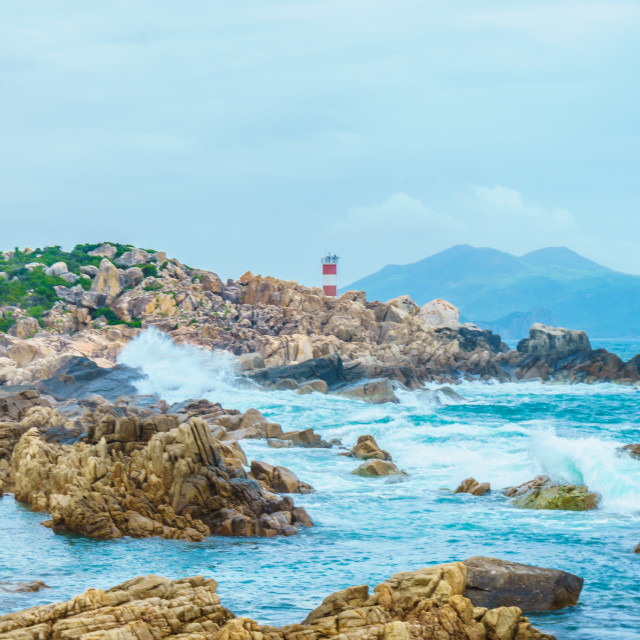 """Beach lighthouse"" stock image"