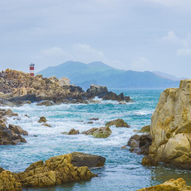"""""""Coast lighthouse"""" stock image"""