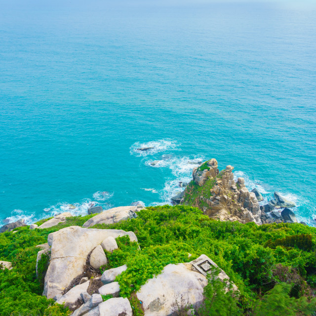 """DaiLanh point, easternmost of VietNam"" stock image"