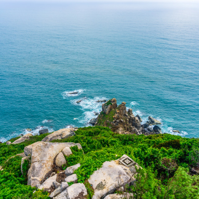 """Easternmost of VietNam, Dailanh cape point"" stock image"